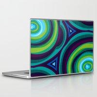 malachite Laptop & iPad Skins featuring Malachite by Alex Morgan