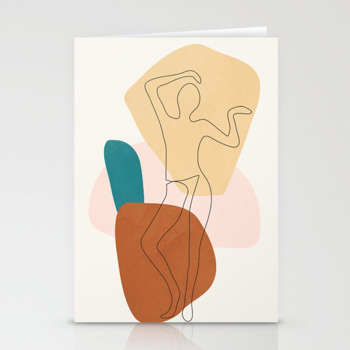 Summer Dance II Stationery Cards