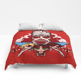 Attack on Townsville - Mojo Version Comforters