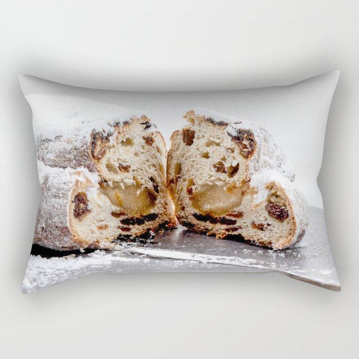 Christmas stollen Rectangular Pillow