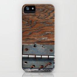 Battered Hinge iPhone Case