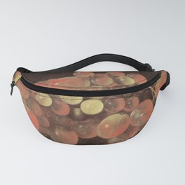 Adriaen Coorte - Bunch of Grapes Fanny Pack
