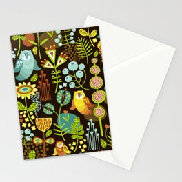 5BF1 Scandinavian Birds Stationery Cards