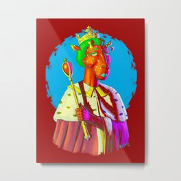 Queen Of What? Metal Print