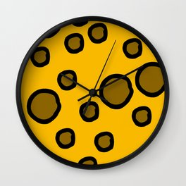Holey Moley Wall Clock