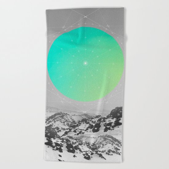 Middle Of Nowhere II Beach Towel