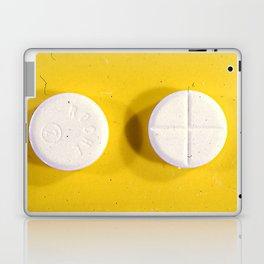 Yellow Rohypnol Laptop & iPad Skin