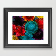 To Smell The Flowers Framed Art Print
