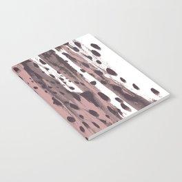 Rose and Dark Violet Notebook