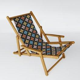 Las Flores 01 (Patterns Please) Sling Chair
