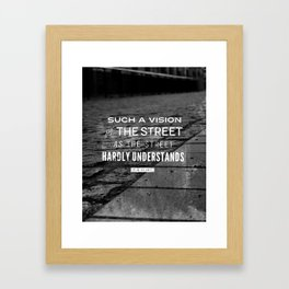 Eliot I Framed Art Print