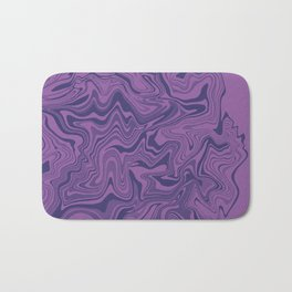 Two-toned purple Agate Bath Mat