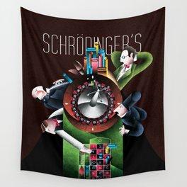 Erwin Schrödinger Wall Tapestry
