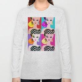 Pop Art Barbie Long Sleeve T-shirt