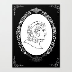 Alexander the great Canvas Print