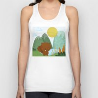 beaver Tank Tops featuring little beaver by Proyecto Melón