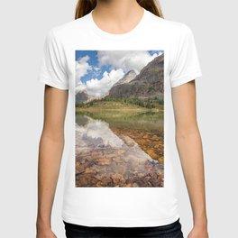 Lake OHara mountain lake forest mountains Yoho National Park British Columbia Canada Opabin Plateau T-shirt