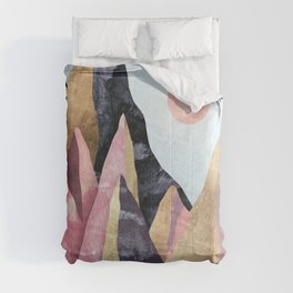 Mauve Peaks Comforters