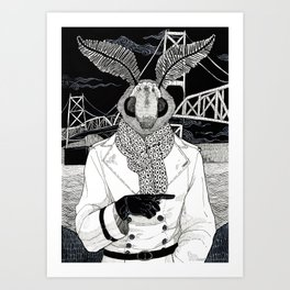 The Cryptids - Mothman Art Print