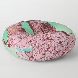 Pink Arch Floor Pillow