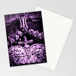 Santa Muerte Crown Stationery Cards
