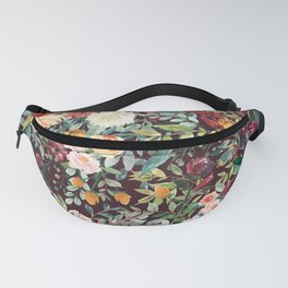 Fall Floral Fanny Pack