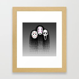 The Three MASKeteers Framed Art Print