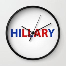 hillary liar Wall Clock