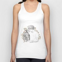 coconutwishes Tank Tops featuring Louis and the chimp by Coconut Wishes