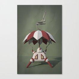 Brella-Bot Nurse Canvas Print