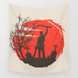 Boomstick Wall Tapestry