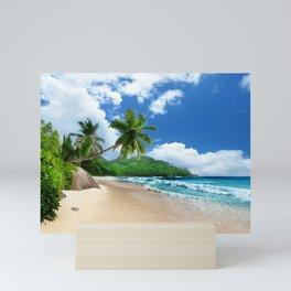 Tropical Landscape at Mahé  Island, Seychelles Mini Art Print