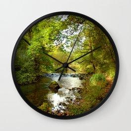 Millers Dale River Walk Wall Clock