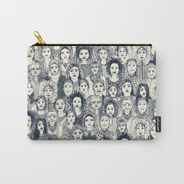 WOMEN OF THE WORLD INDIGO Carry-All Pouch
