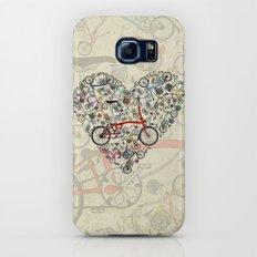 I Love Brompton Bikes Galaxy S7 Slim Case