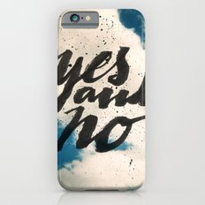 Yes and No Slim Case iPhone 6s