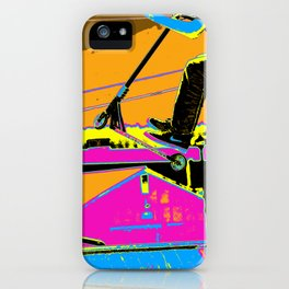 High-Flyin' Scooter Champ iPhone Case