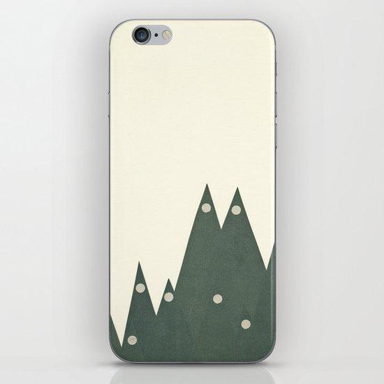 Moonlit Peaks iPhone & iPod Skin