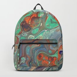 """Caribbean Coast"" by Laurie Ann Hunter Backpack"