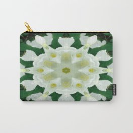 Summer Snowflake Mandala Carry-All Pouch