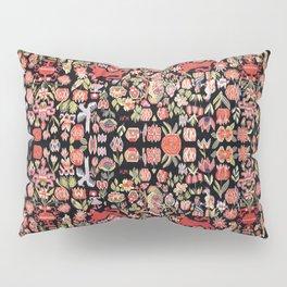 Täcke Antique Swedish Skåne Wedding Blanket Print Pillow Sham
