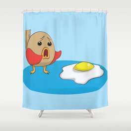 Why Bird Shower Curtain