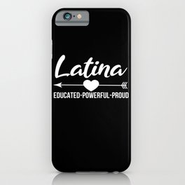 Latina iPhone Case