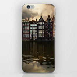 Postcards from Amsterdam iPhone Skin