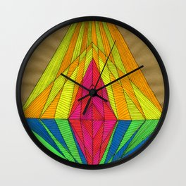 Diamond Light Wall Clock