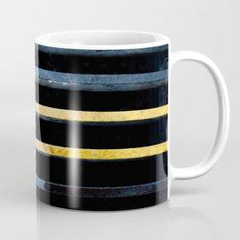 Sewer Grate Abstract Lines Coffee Mug