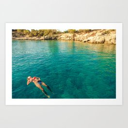 floater Art Print