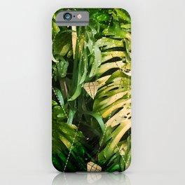 Leaf & gold iPhone Case