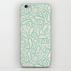 ziya cream mint iPhone Skin