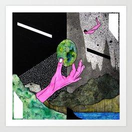 #004 Art Print